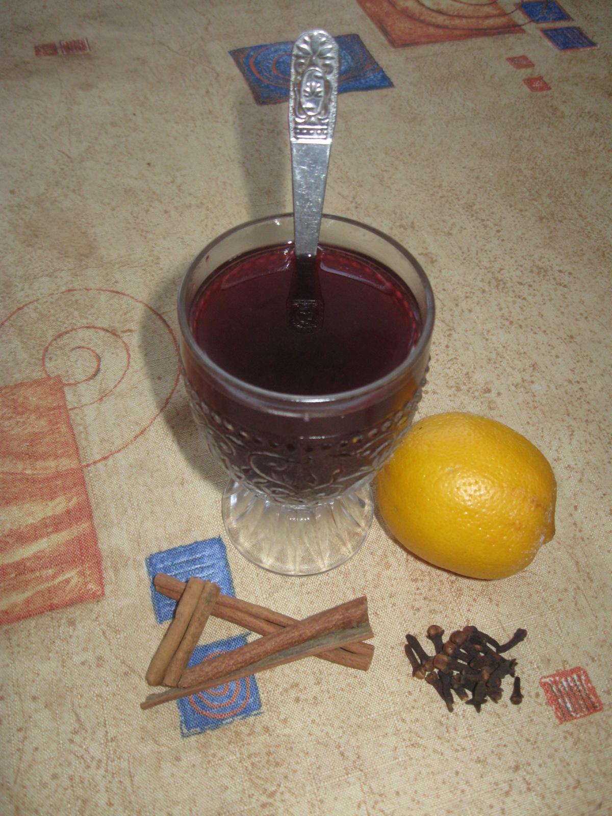 Fotografie receptu: Pečený čaj studený i teplý