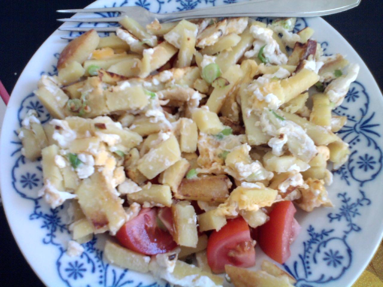 Fotografie receptu: Knedlík s vejci aneb hnedlíky