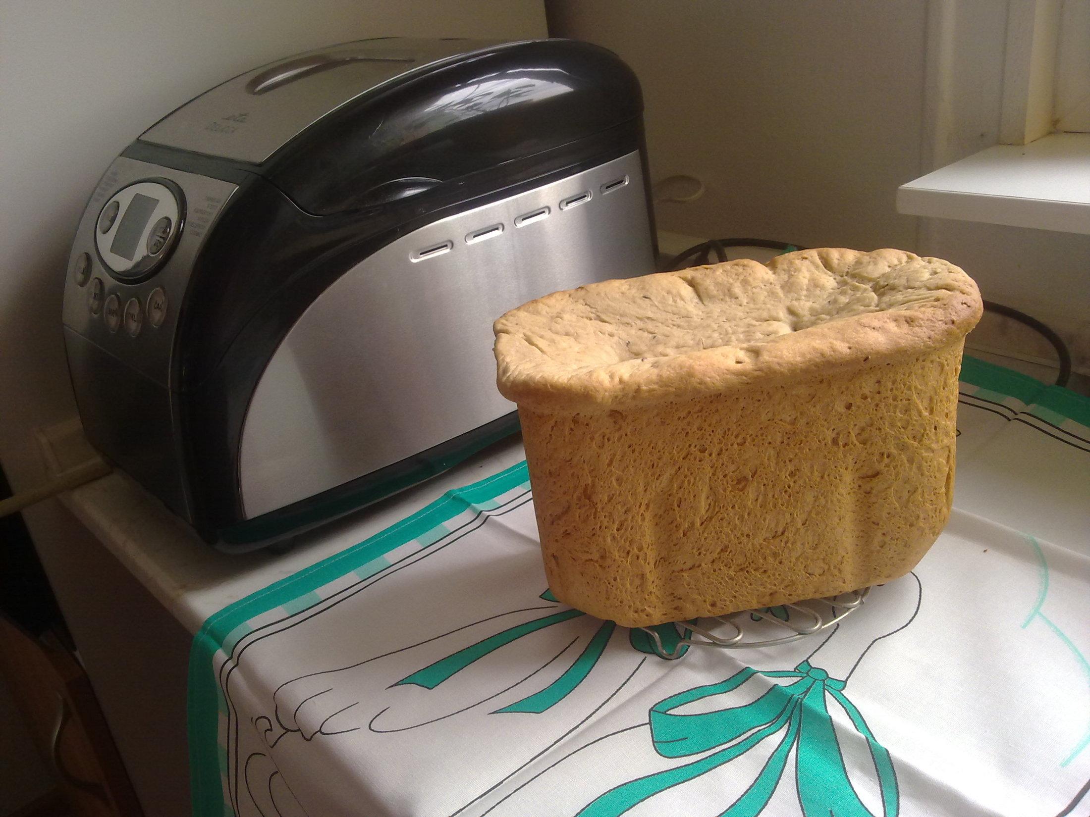 Domácí škvarkový chléb z pekárny