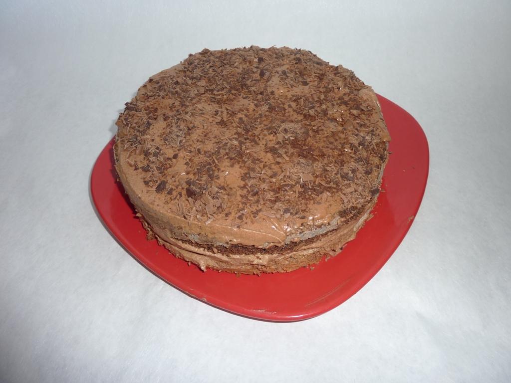 Čokoládový dort s domácí pařížskou šlehačkou