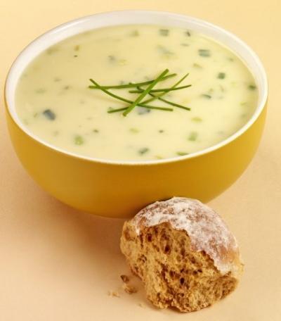 Fotografie receptu: Rychlá pórková polévka