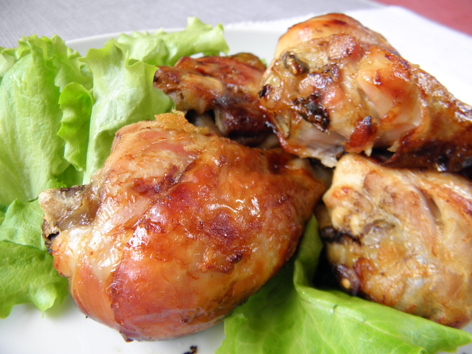 Fotografie receptu: Pečené kuřecí paličky