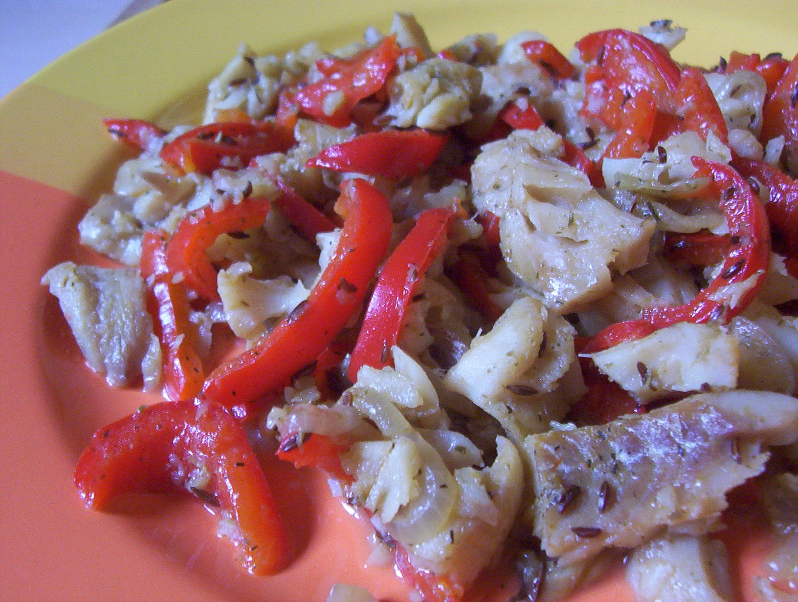 Fotografie receptu: Treska na zelenině