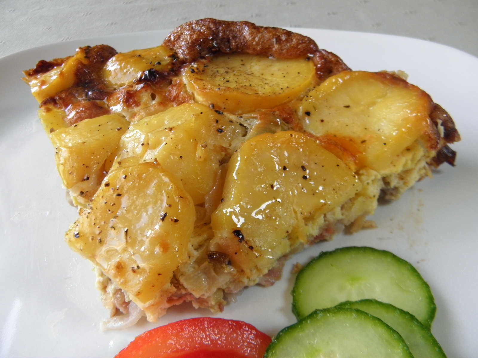Fotografie receptu: Zapečené česnekové brambory