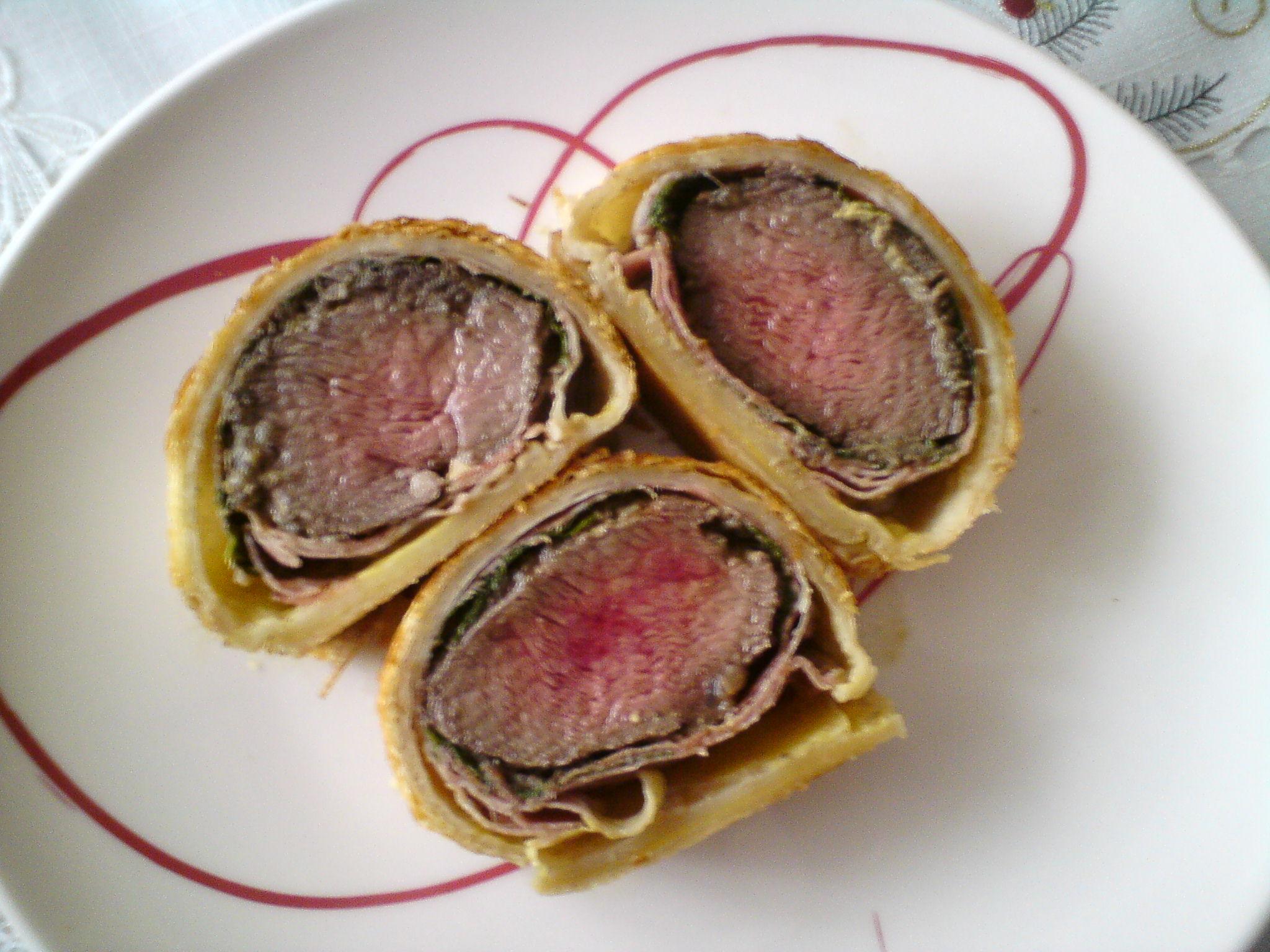 Fotografie receptu: Hovězí Wellington