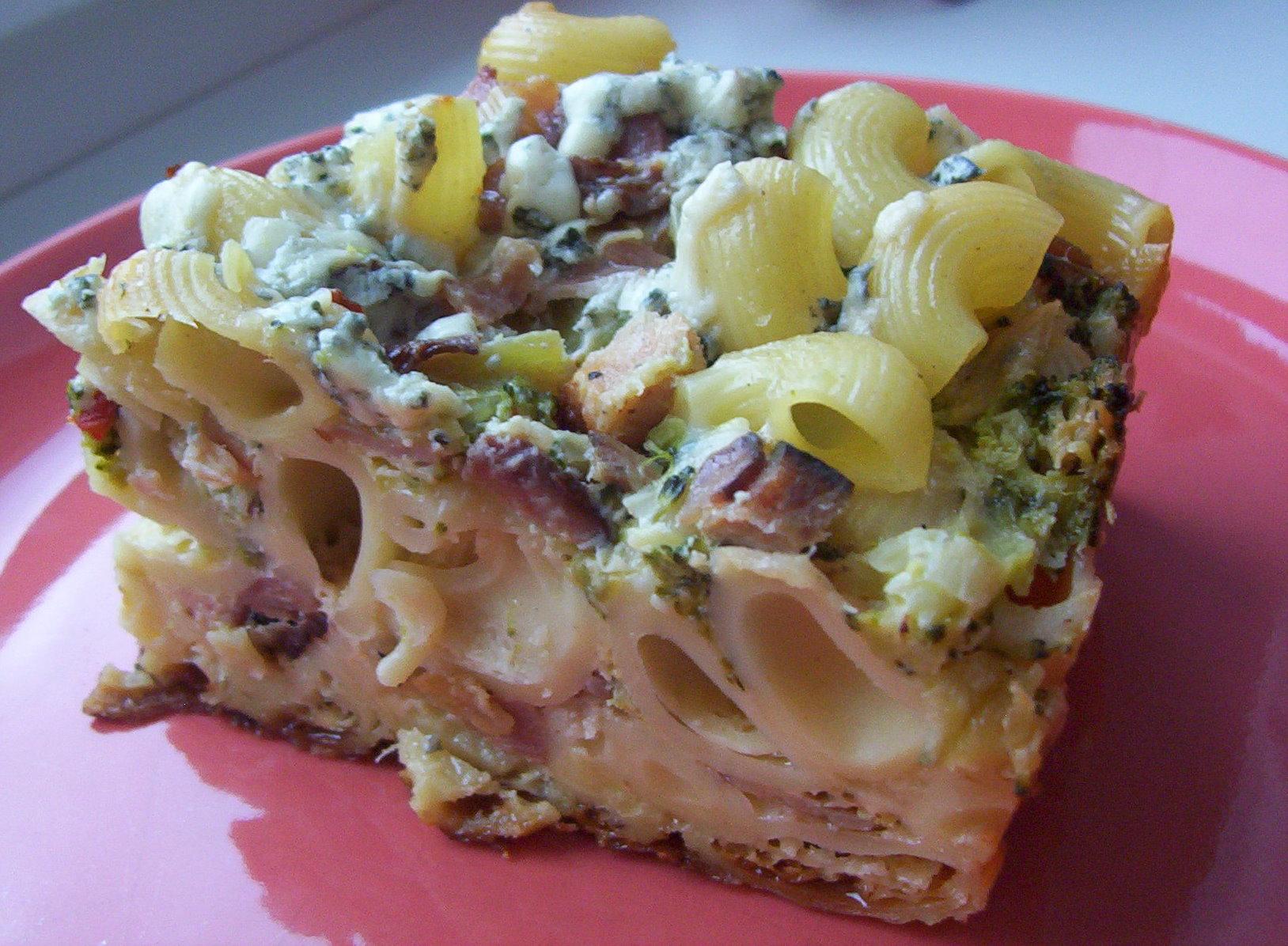 Zapékané těstoviny s brokolicí