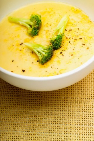 Fotografie receptu: Brokolicová polévka