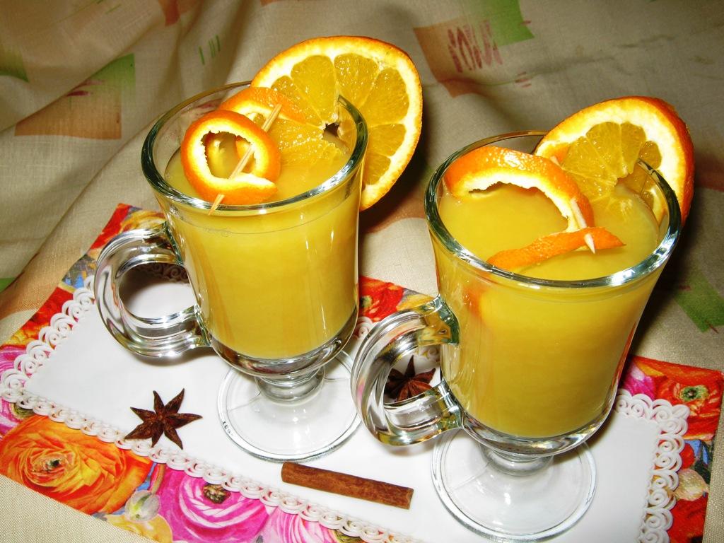 Fotografie receptu: Rychlý pomerančový punč