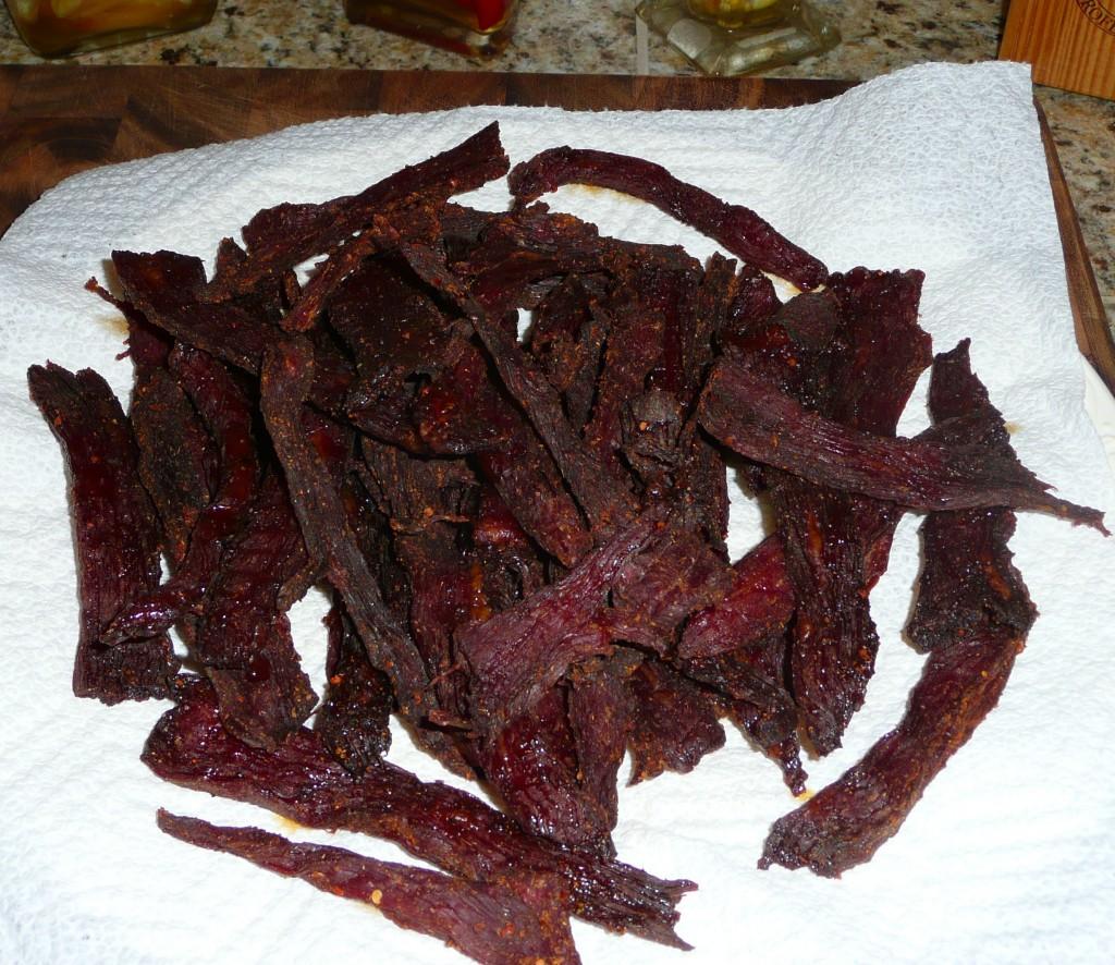 Fotografie receptu: Domácí sušené maso