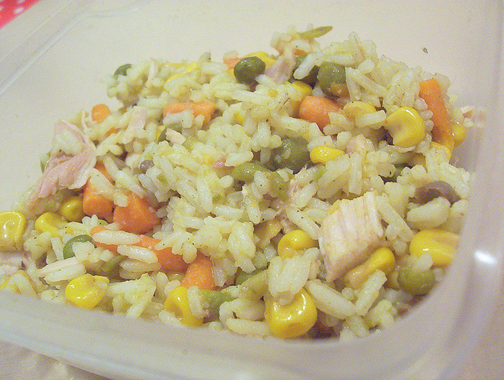 Zeleninové rizoto s kuřecím