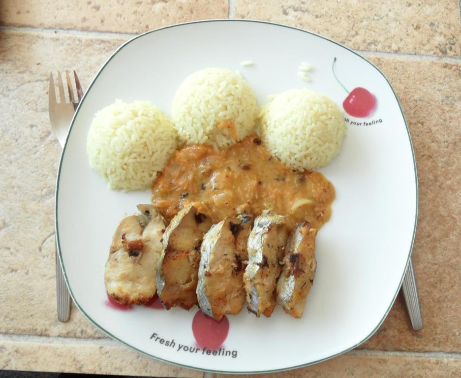 Fotografie receptu: Hejk s mrkvovým přelivem