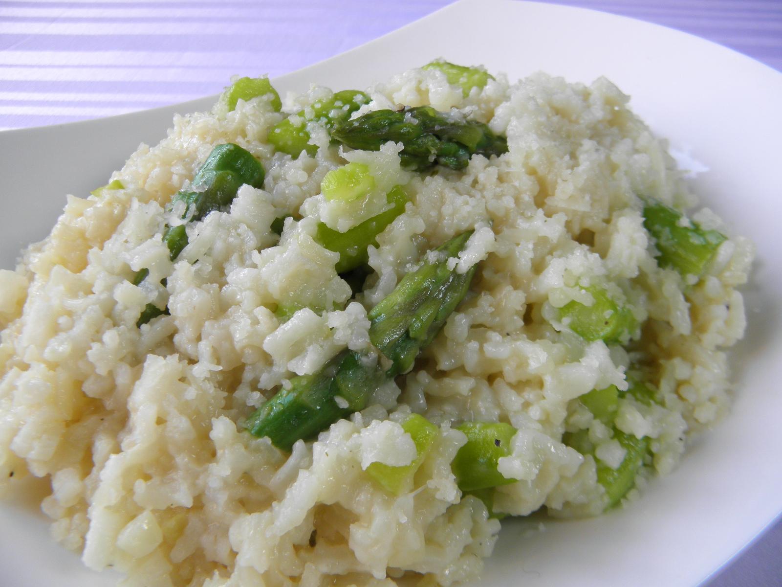 Fotografie receptu: Rizoto se zeleným chřestem