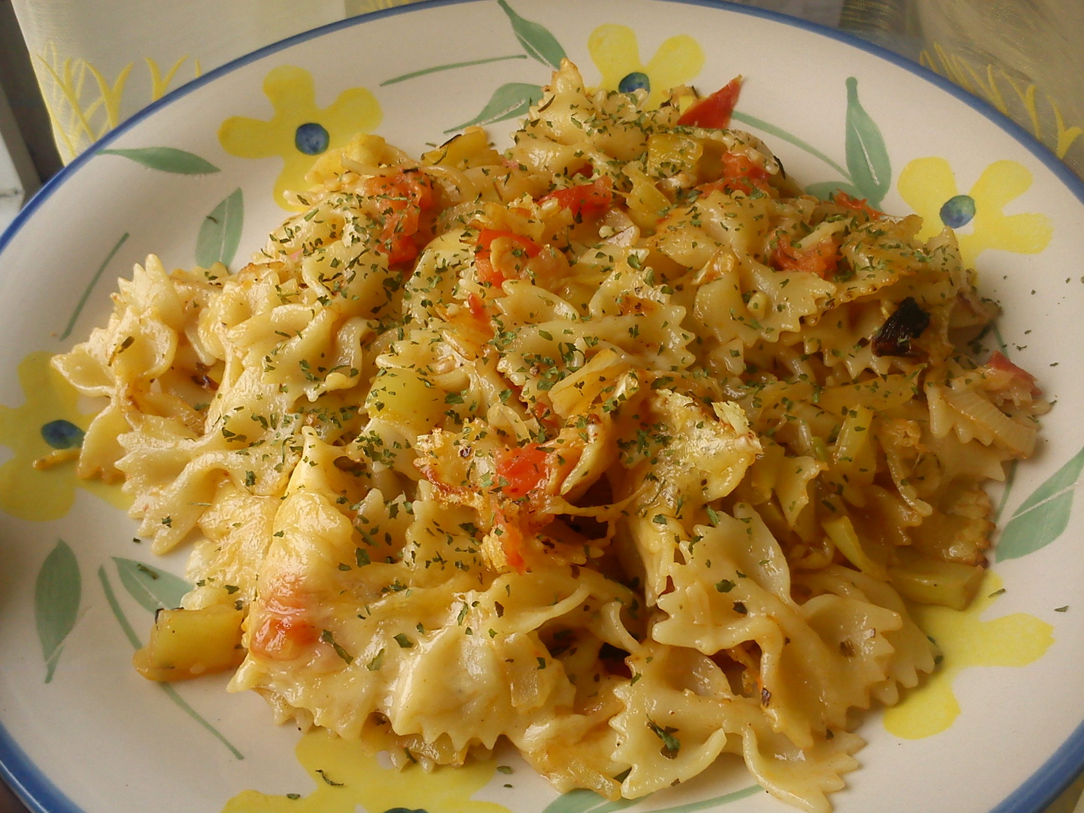 Fotografie receptu: Zapečené dietní těstoviny alá Itálie