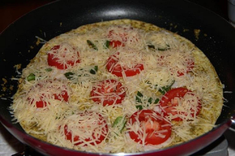 Zdravá pizza Margherita