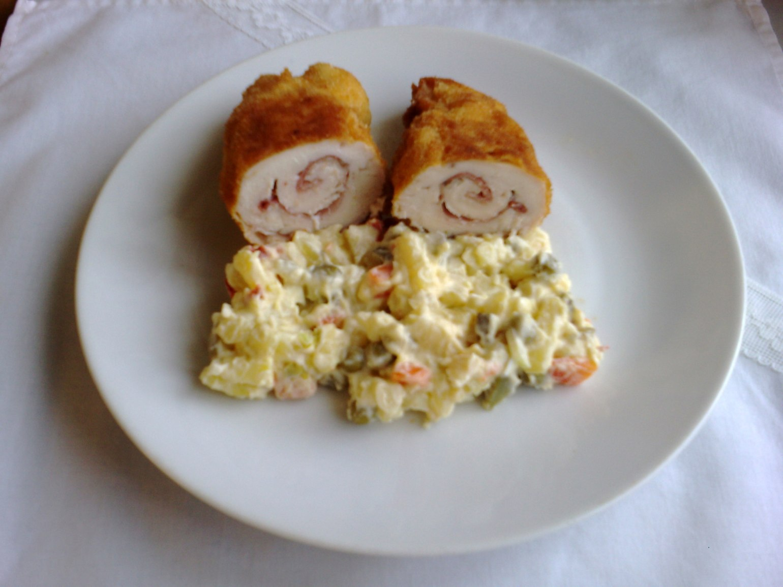Fotografie receptu: Smažené kuřecí řízky Schwarz