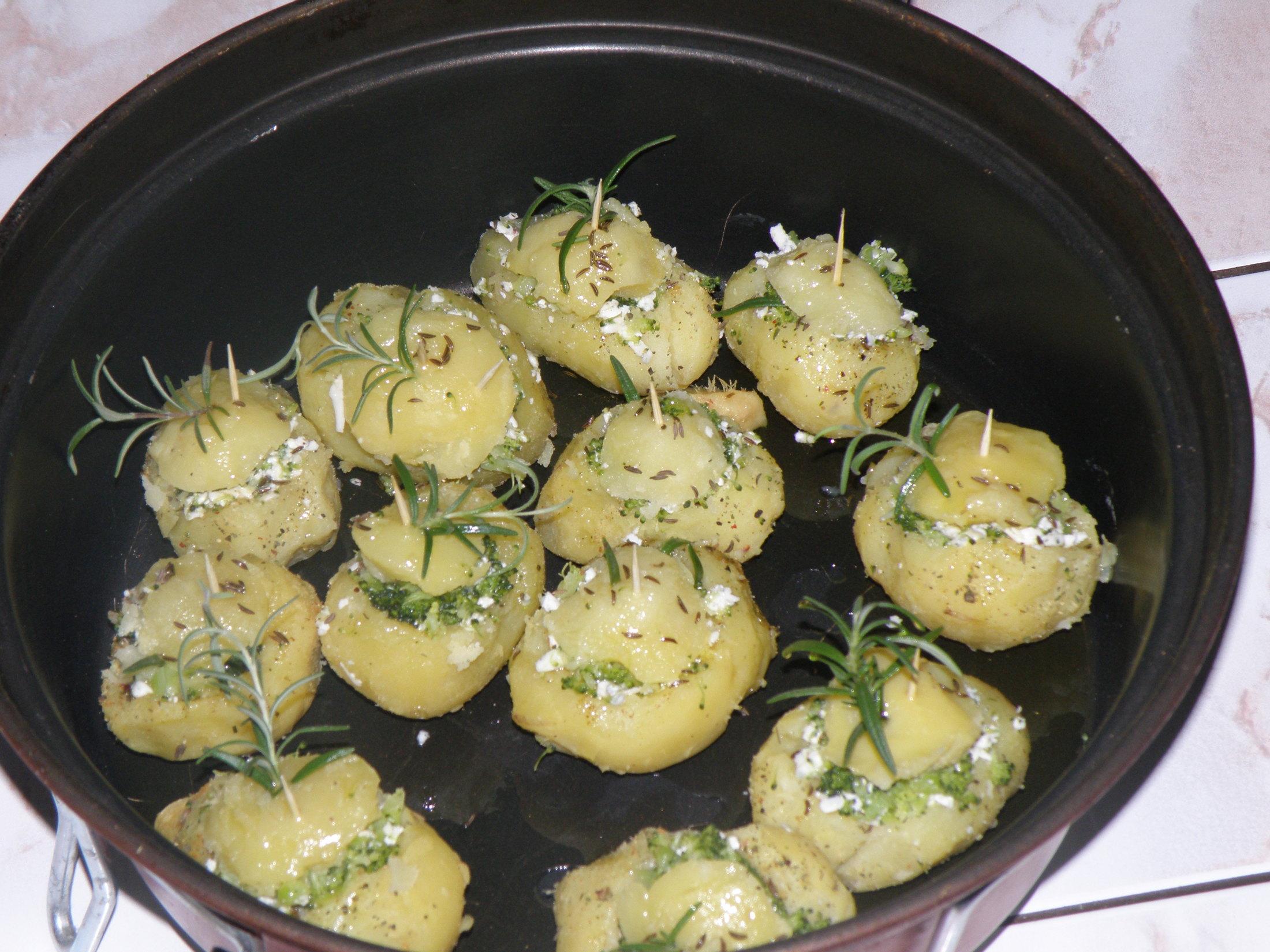 Galbani brambory s pokličkou