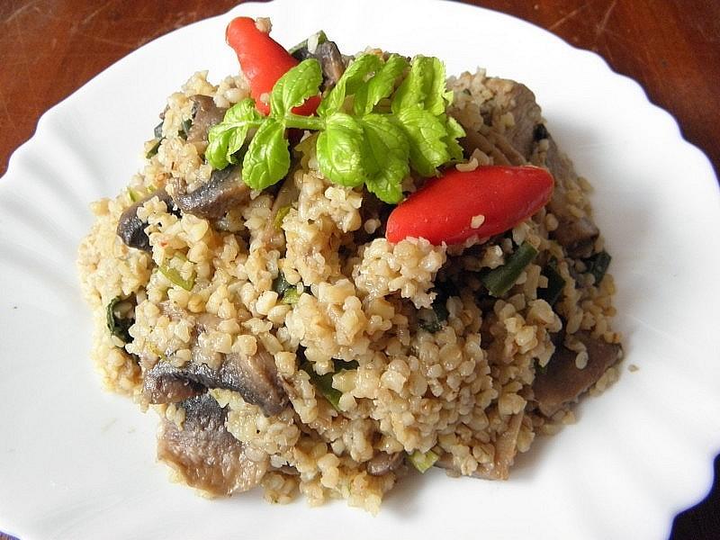 Fotografie receptu: Bulguroto s krůtím masem