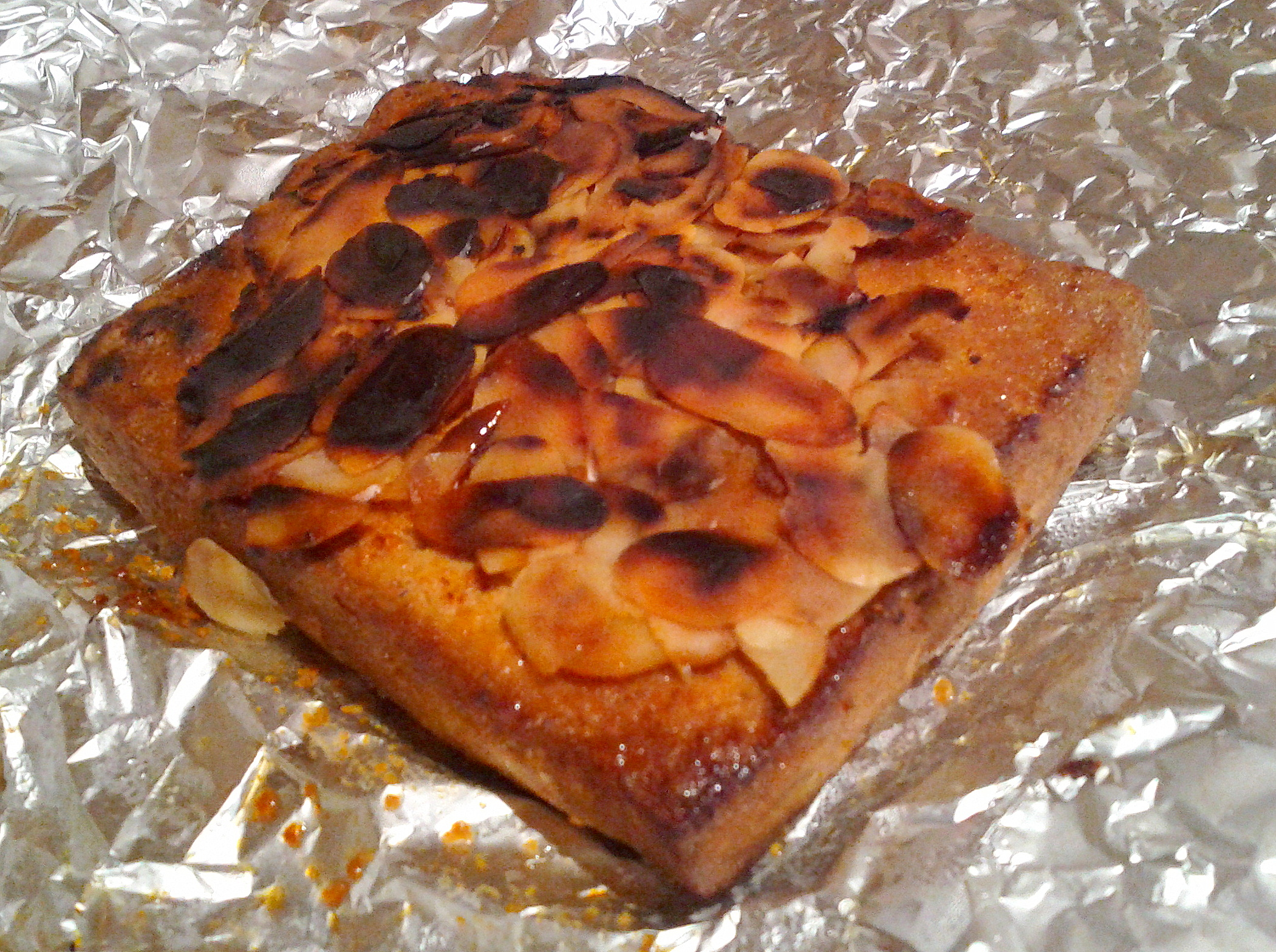 Fotografie receptu: Grilované tofu s mandlovými plátky