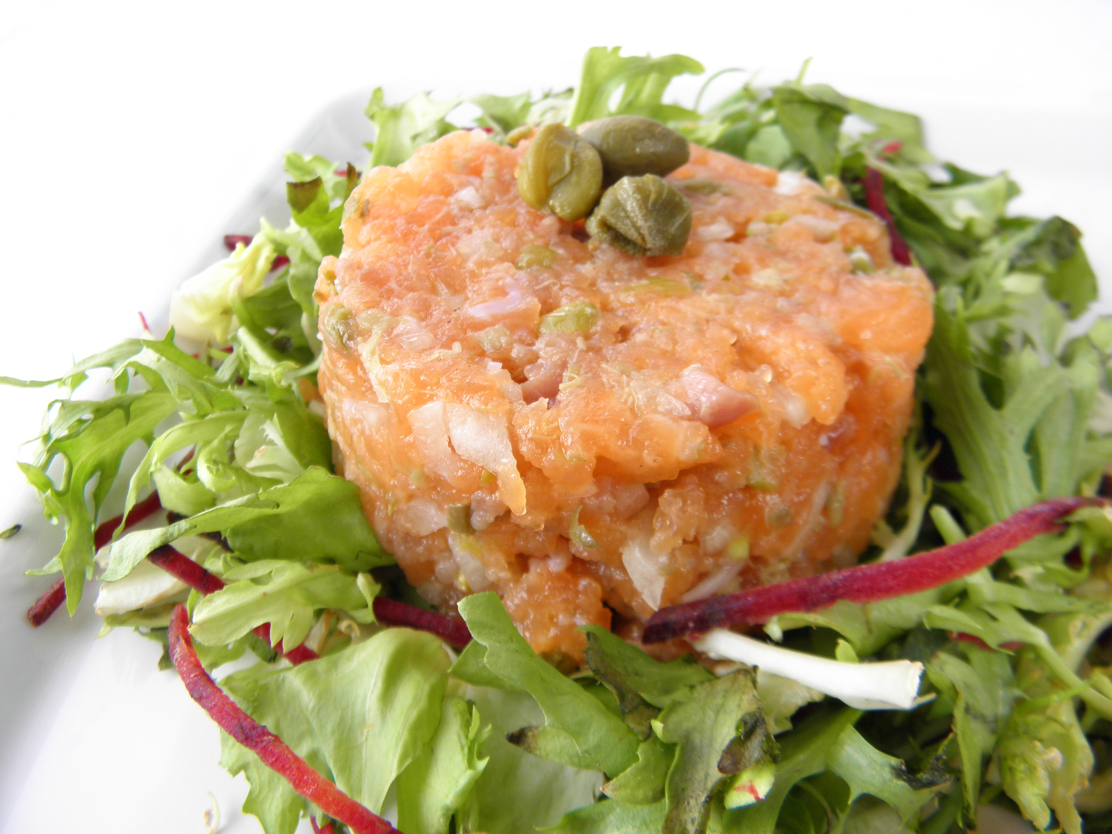 Fotografie receptu: Pochoutka z čerstvého lososa