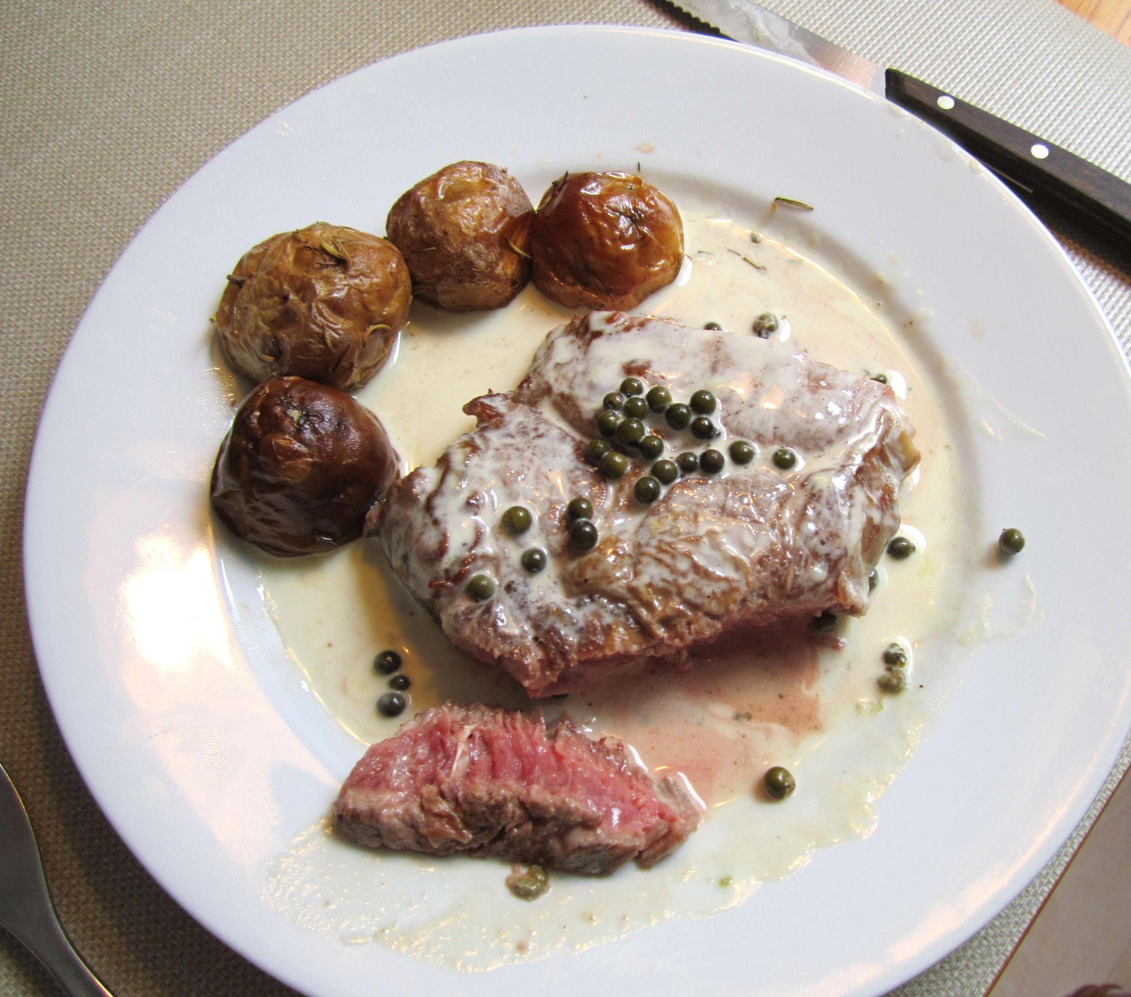 Pepřová omáčka na steaky