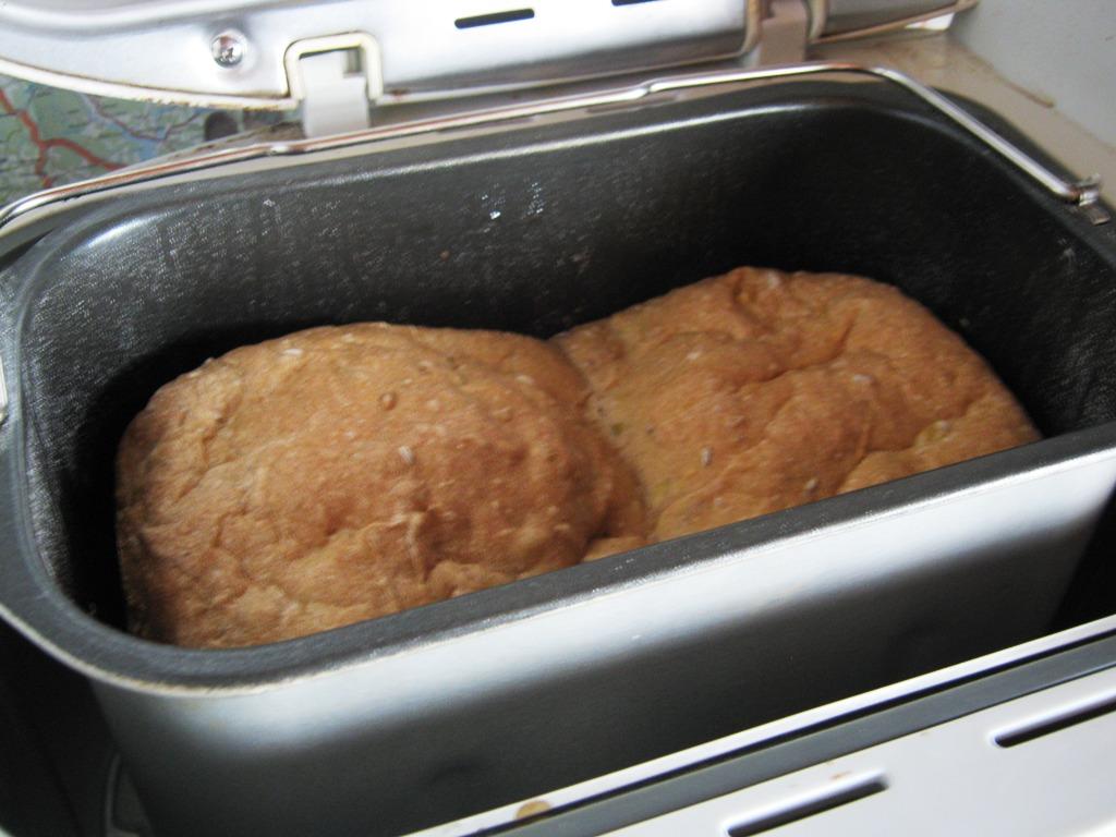 Cuketový chleba z domácí pekárny