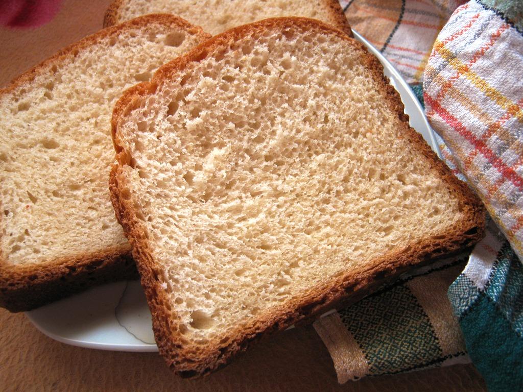 Toastový chléb z domácí pekárny