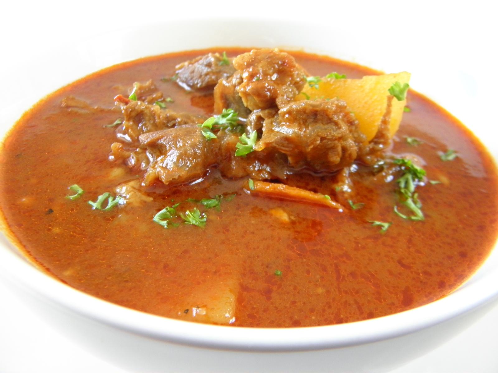 Kavkazská polévka šorpa