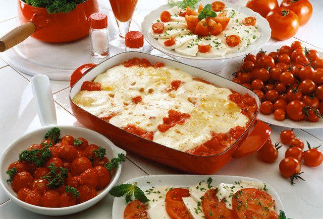 Rajčatové lasagne