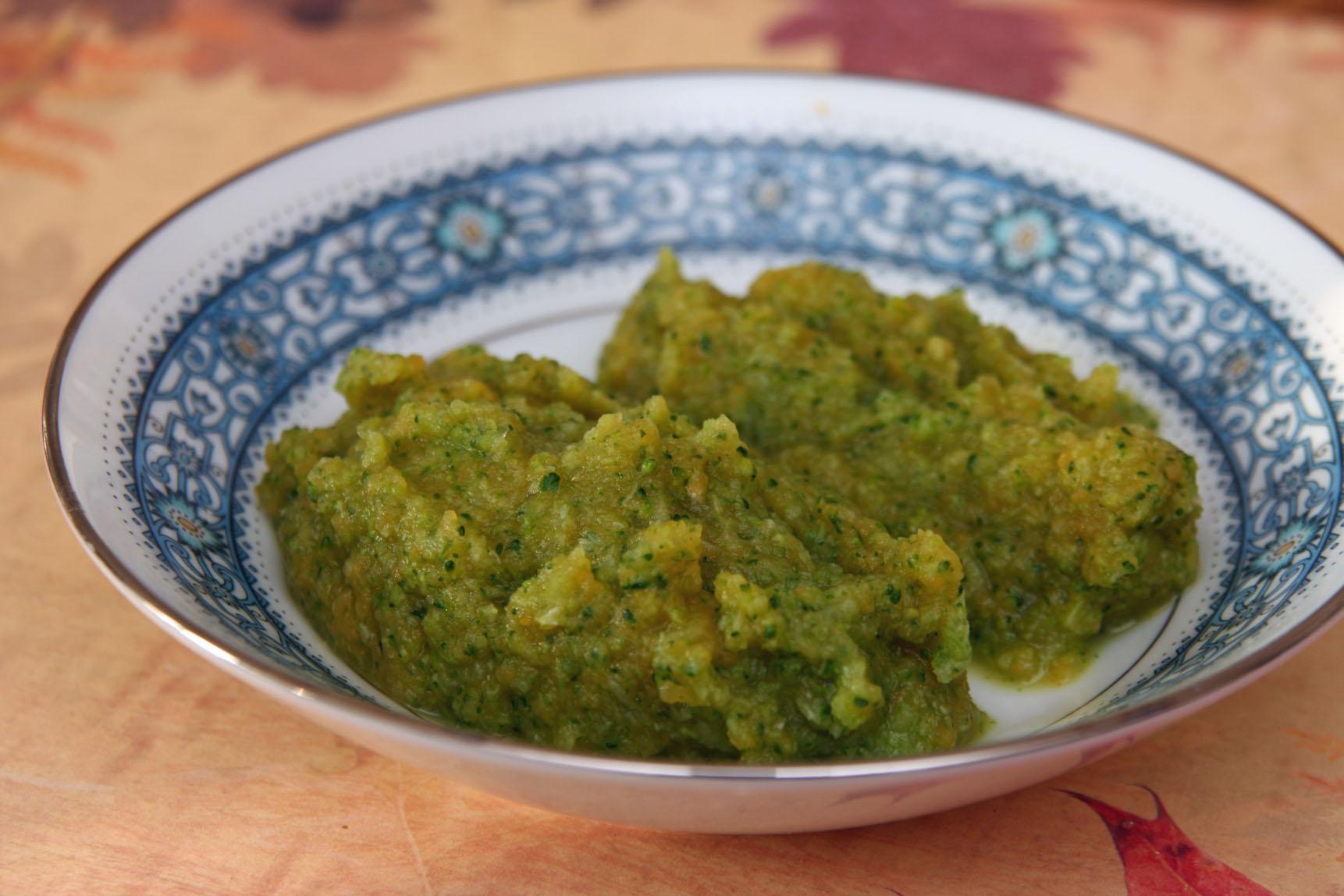 Brokolice s dýní