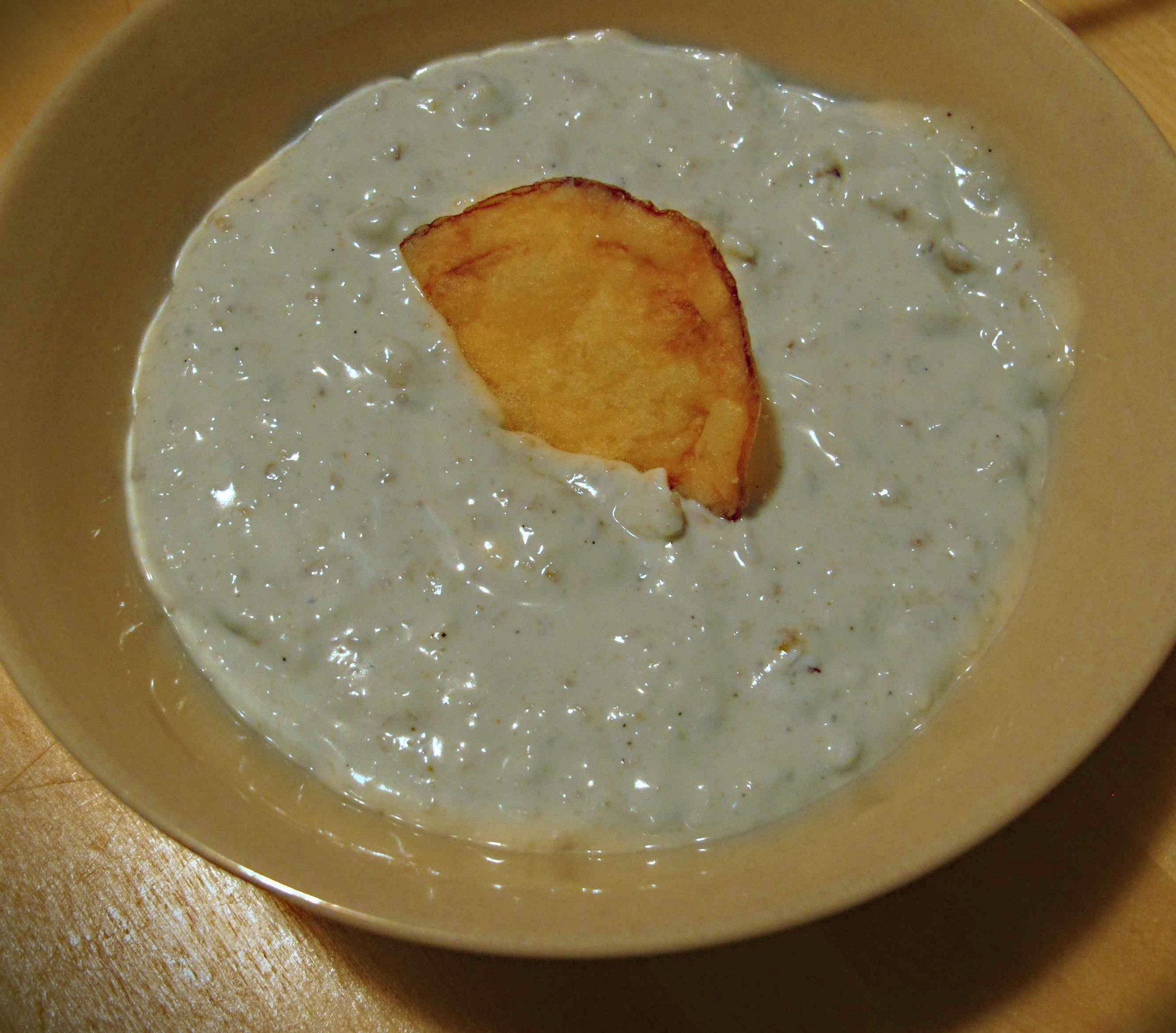 Dip z modrého sýru