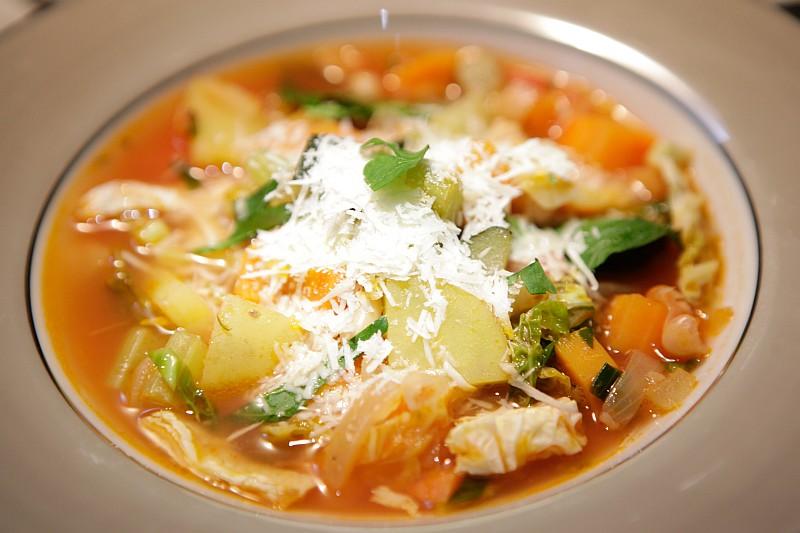 Hřejivá polévka minestrone