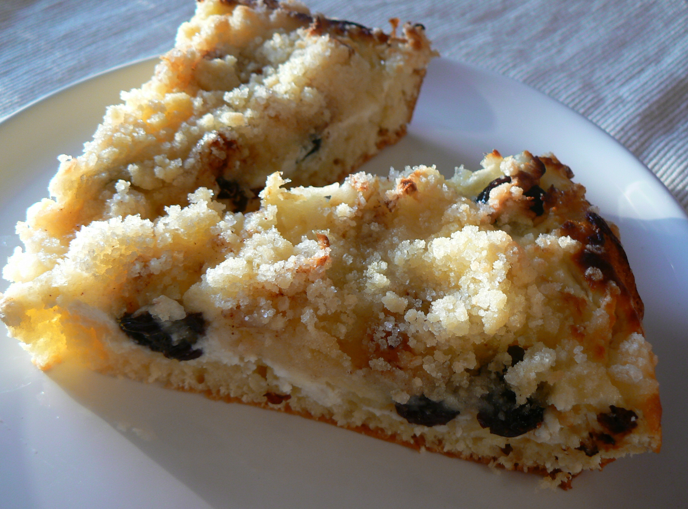 Tvarohový koláč tety Moniky
