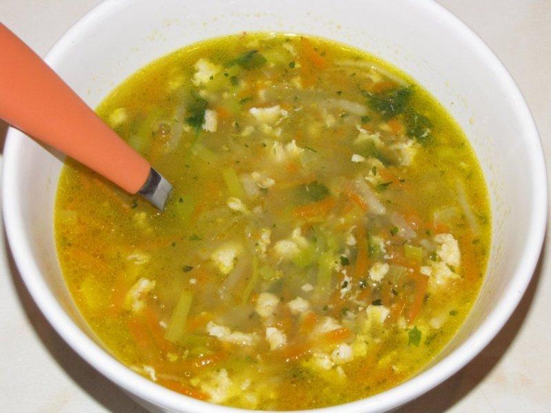 Fotografie receptu: Zeleninová polévka s jíškou