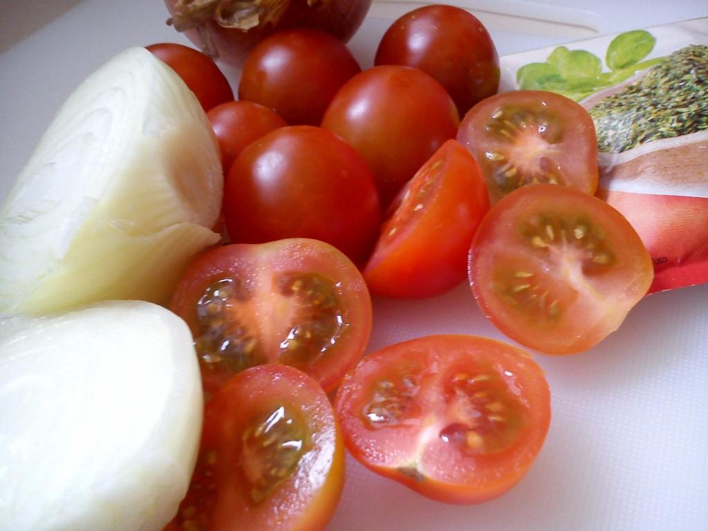 Omáčka z čerstvých rajčat