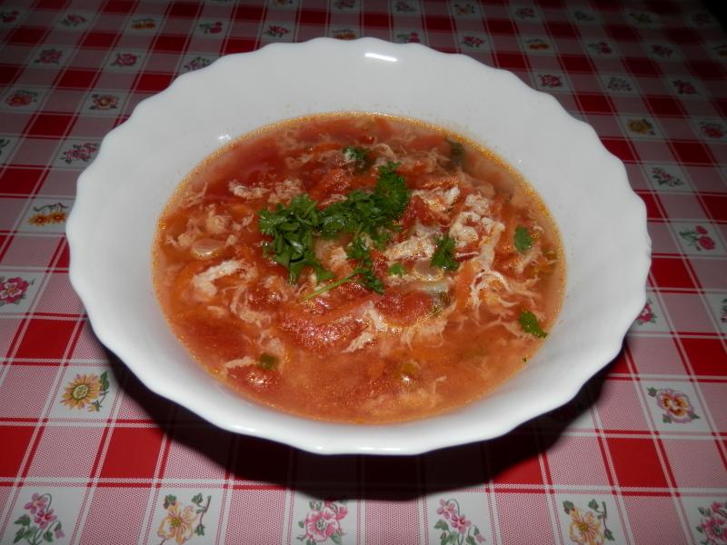 Fotografie receptu: Čínská polévka