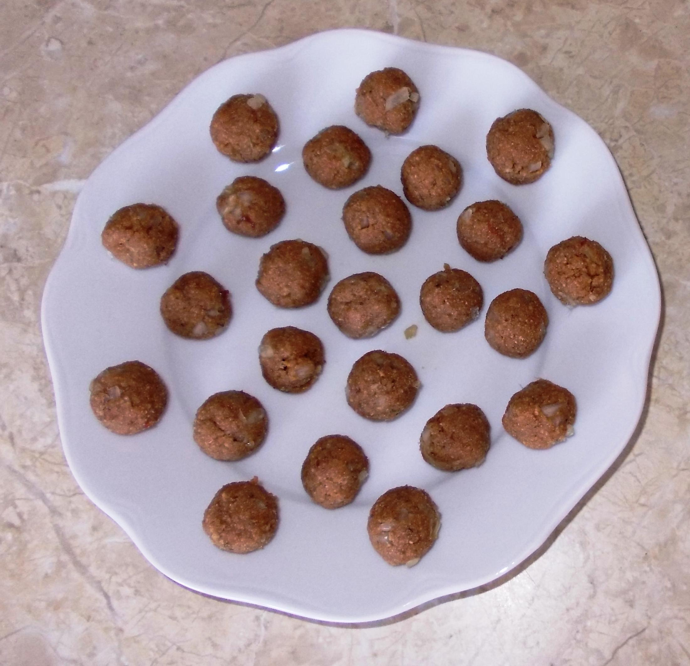 Fotografie receptu: Játrové knedlíčky do polévky
