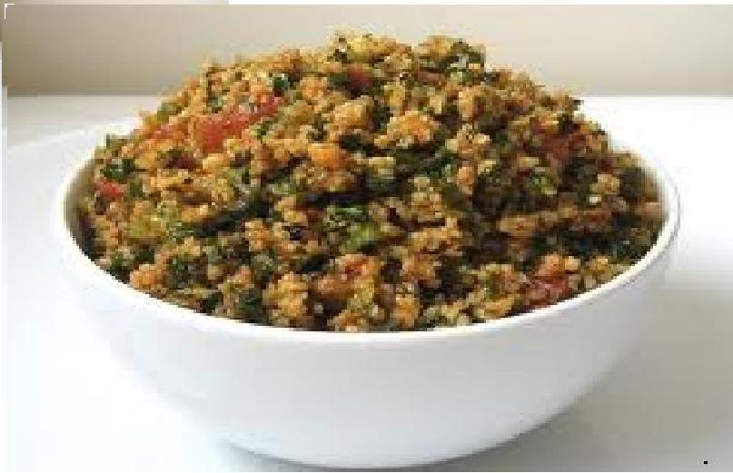 Fotografie receptu: Bulgur s rajčaty