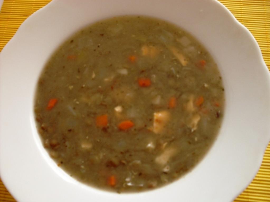 Fotografie receptu: Čočková polévka s vajíčkem