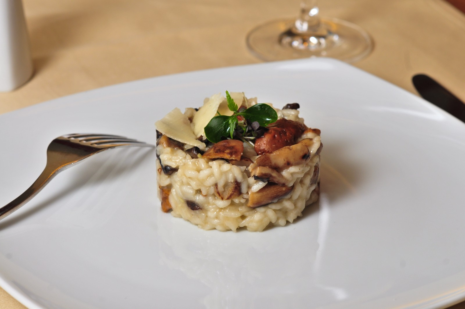 Fotografie receptu: Italské houbové rizoto s petrželkou
