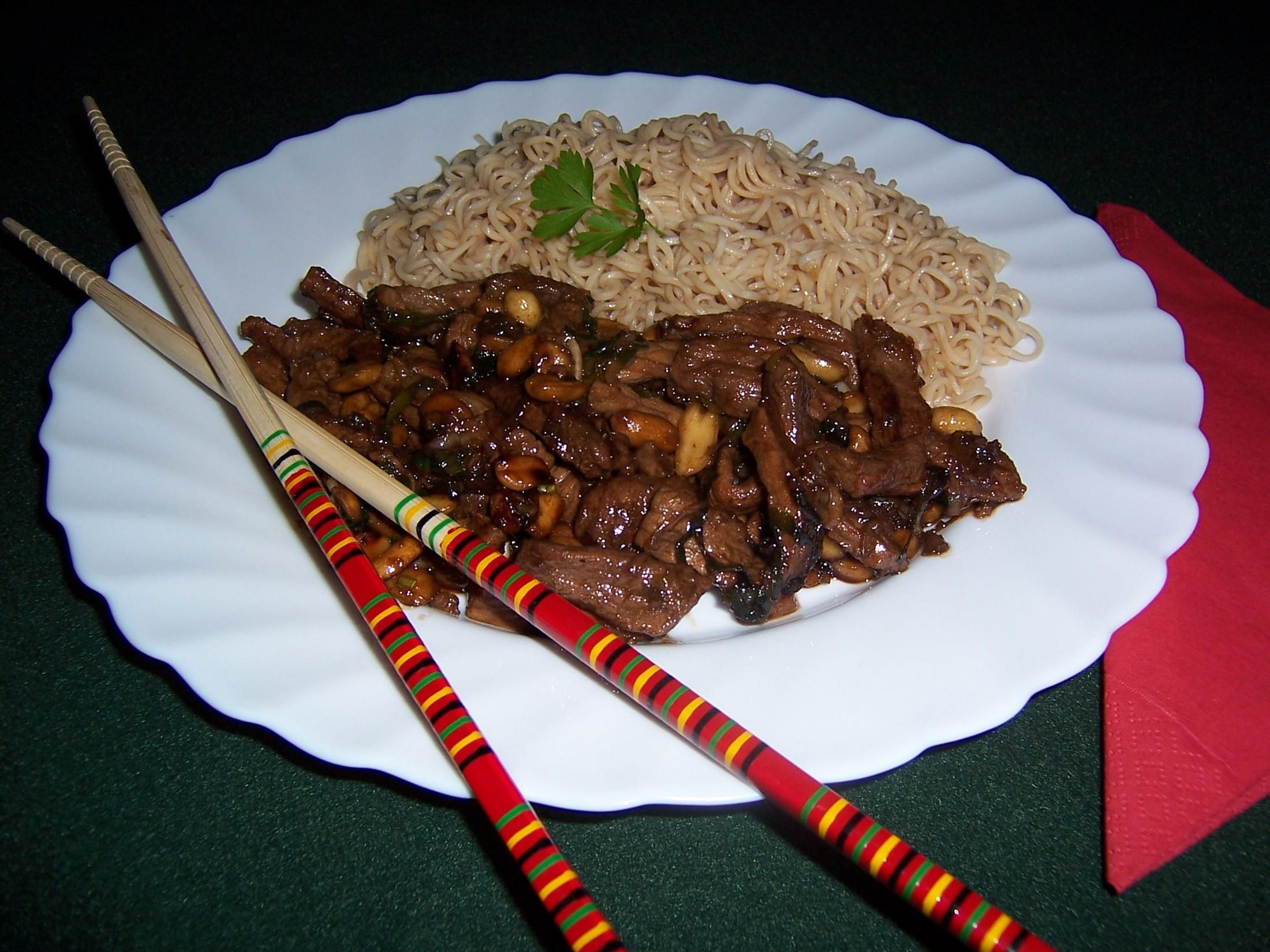 Fotografie receptu: Kung Pao z vepřového masa
