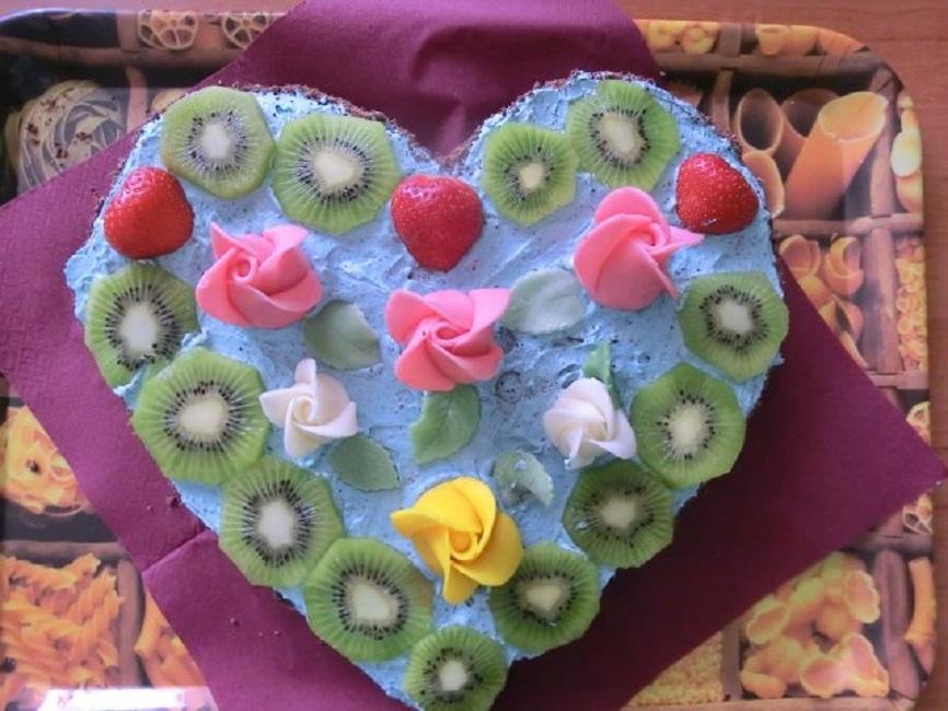 Ovocný dort k narozeninám