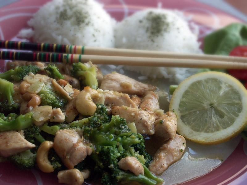 Kuřecí maso s brokolicí a medem
