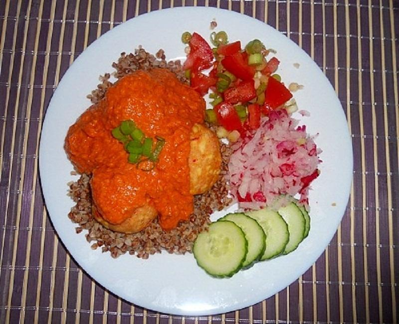Fotografie receptu: Indická kofta