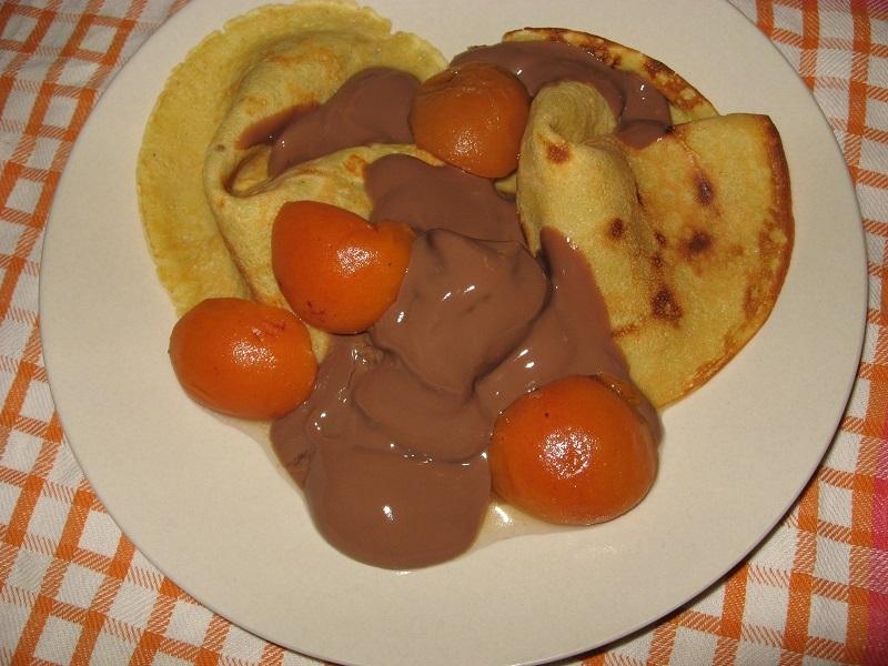 Alpročinky s čokoládou