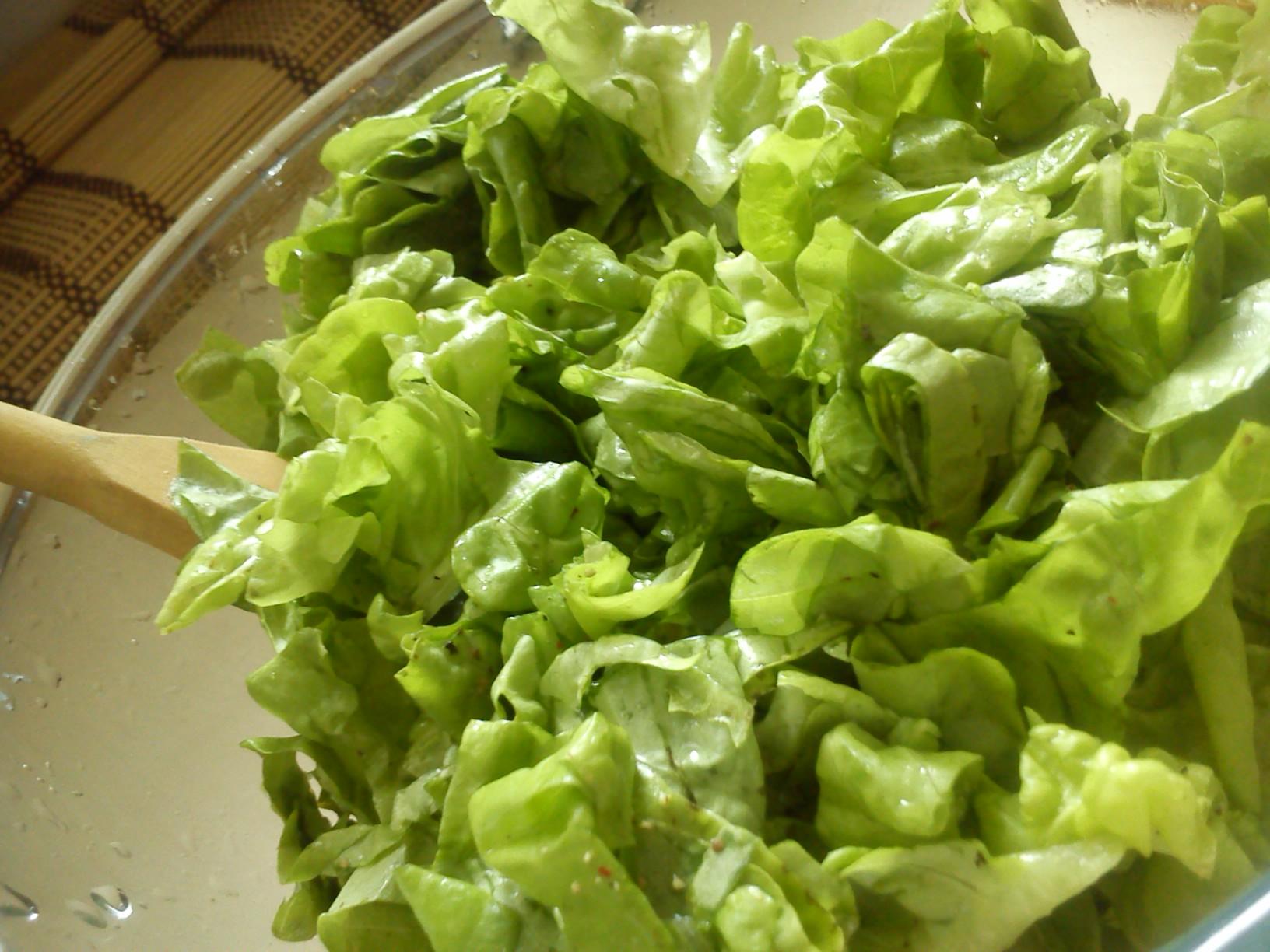 Kořeněný hlávkový salát