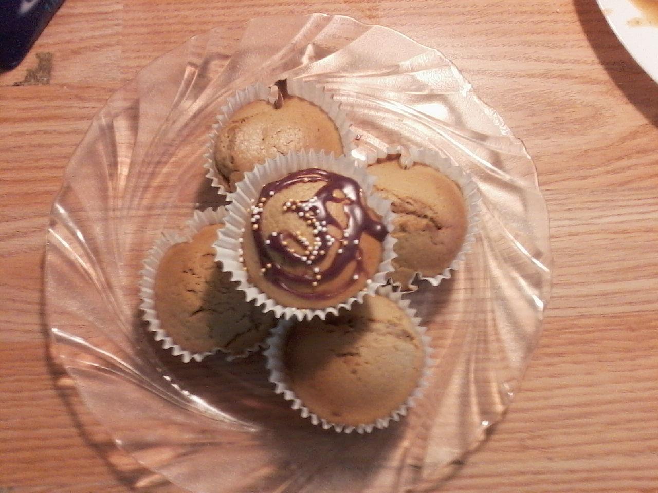 Muffiny capuccino