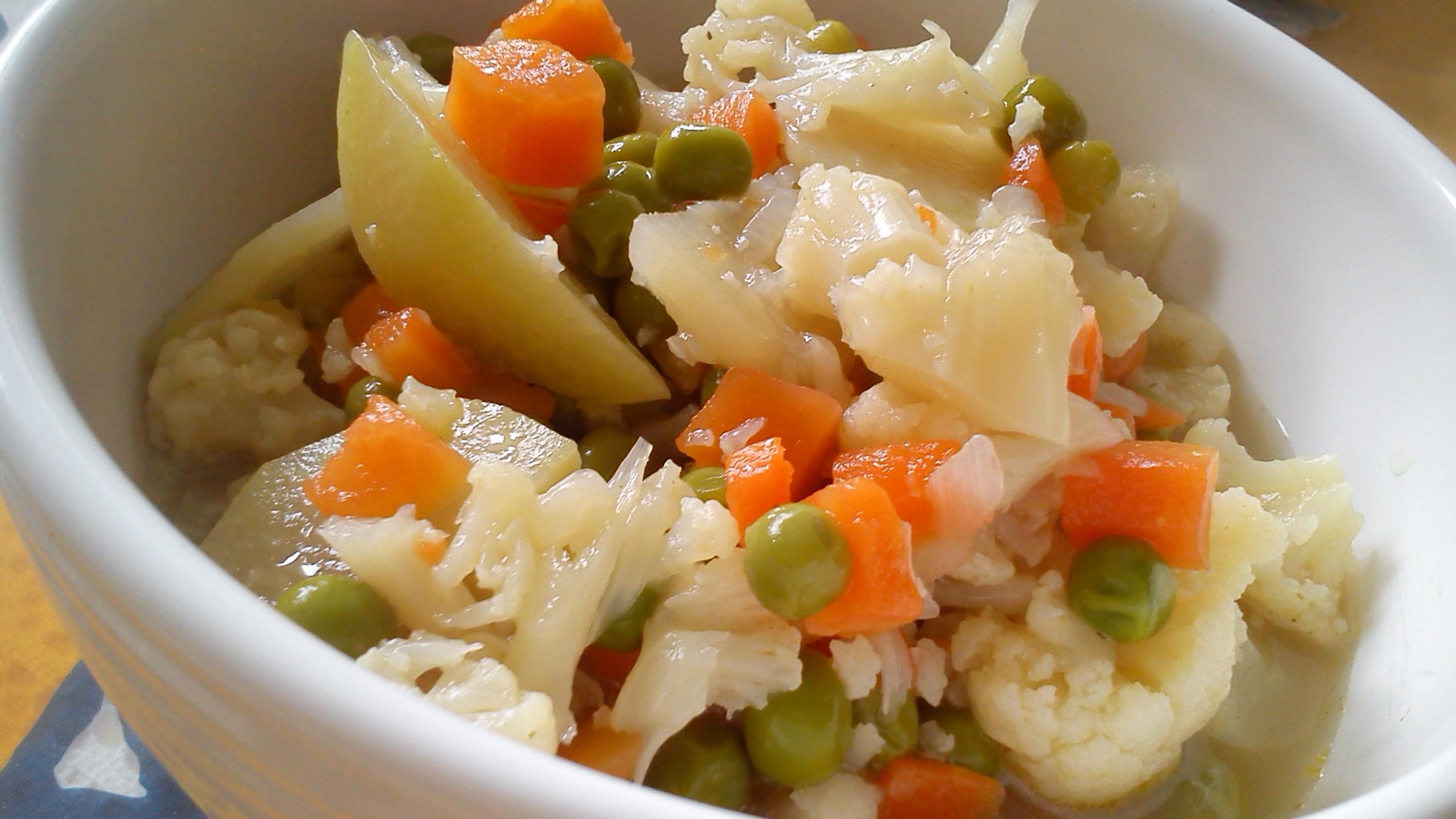 Pestrá dušená zelenina