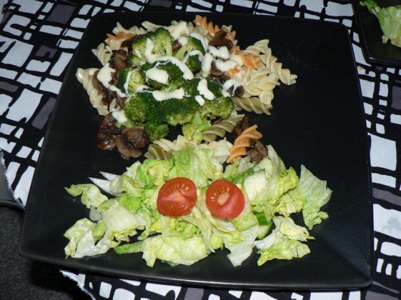 Fotografie receptu: Brokolice s bešamelem