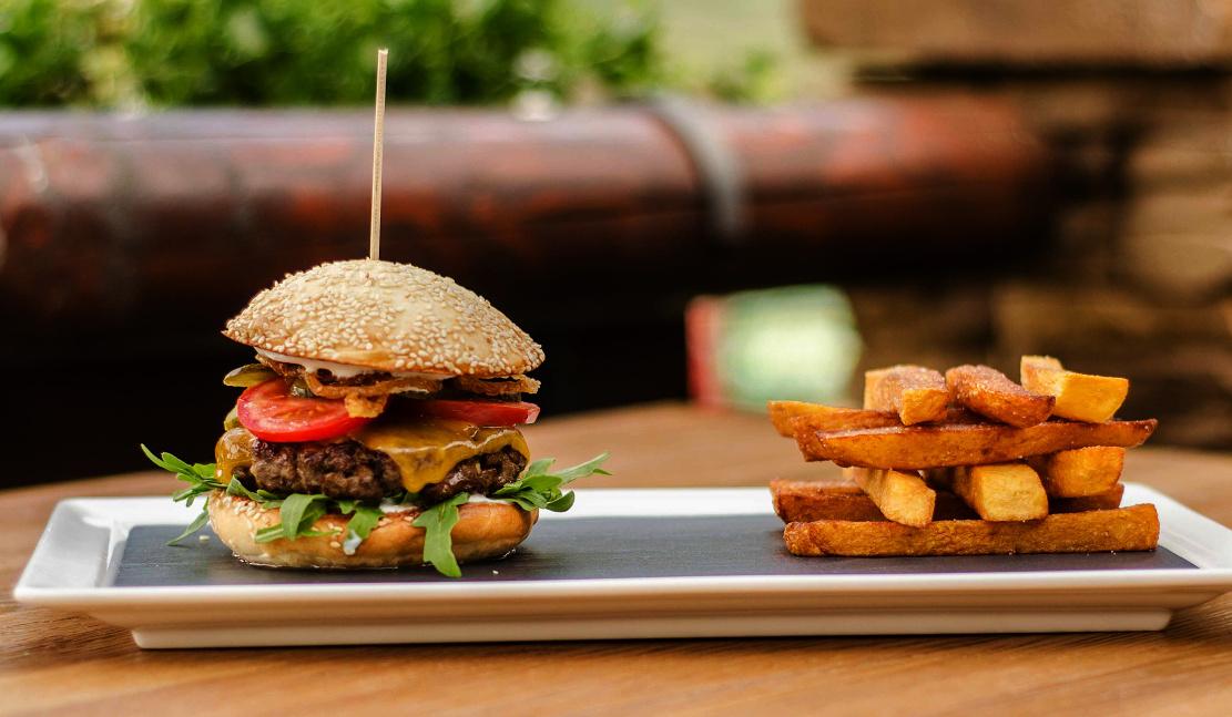 Základní hamburger