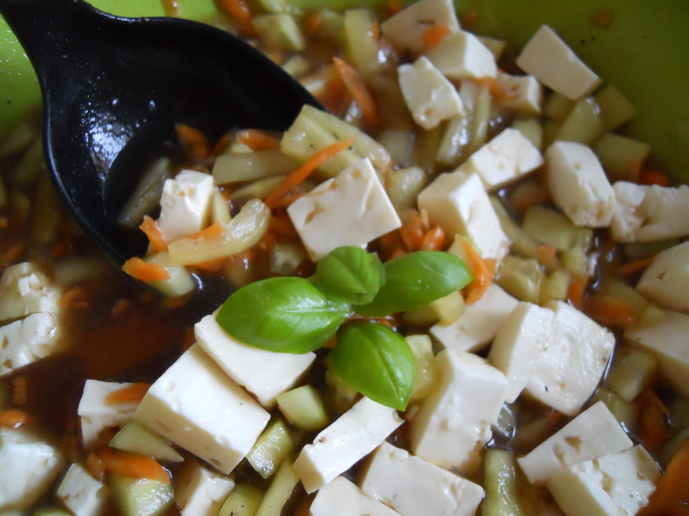 Jarní salát s mrkví